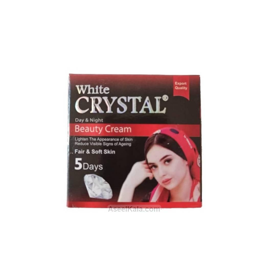 کرم زیبایی وایت کریستال White Crystal وزن گرم