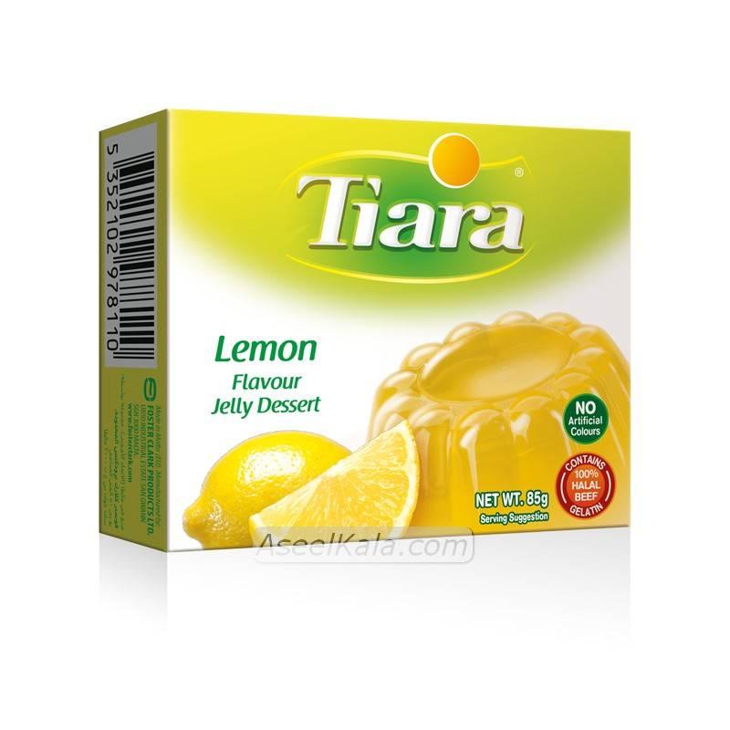 ژله تیاری ژله تیارا یا طعم لیمو