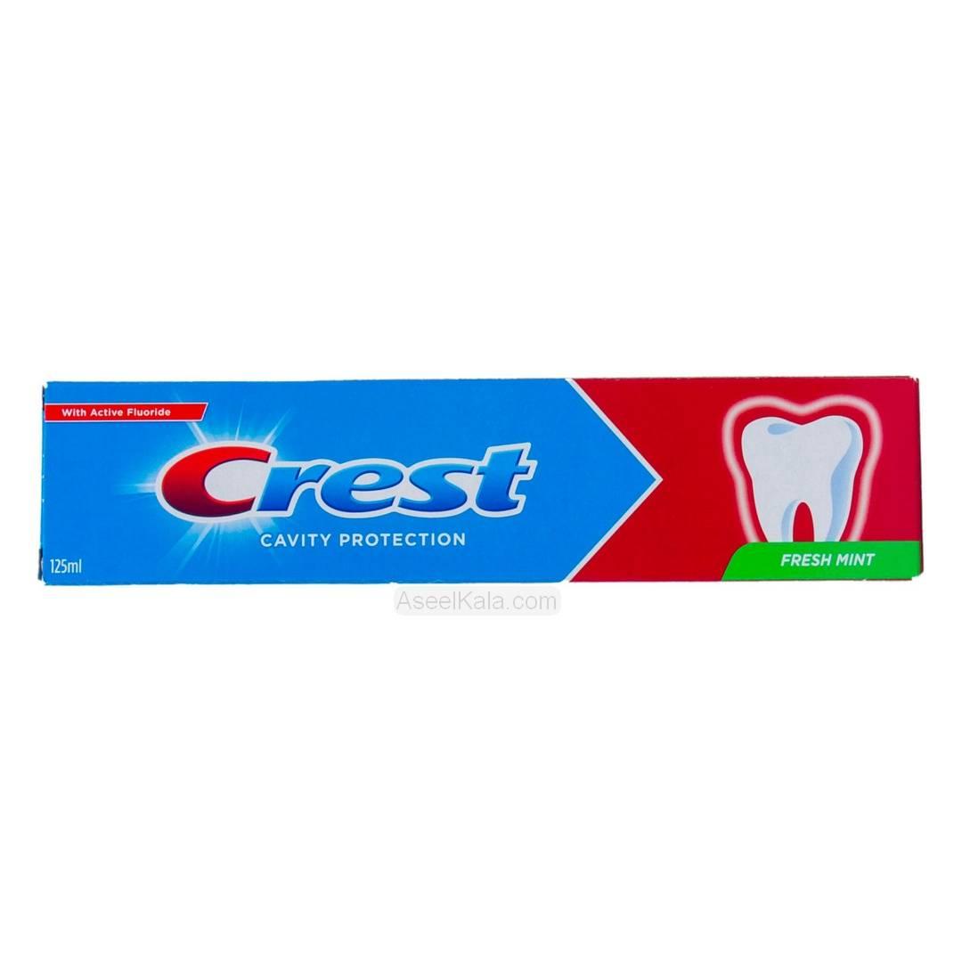 خمیر دندان کرست Crest مدل Cavity Protection Fresh Mint وزن 125 میل