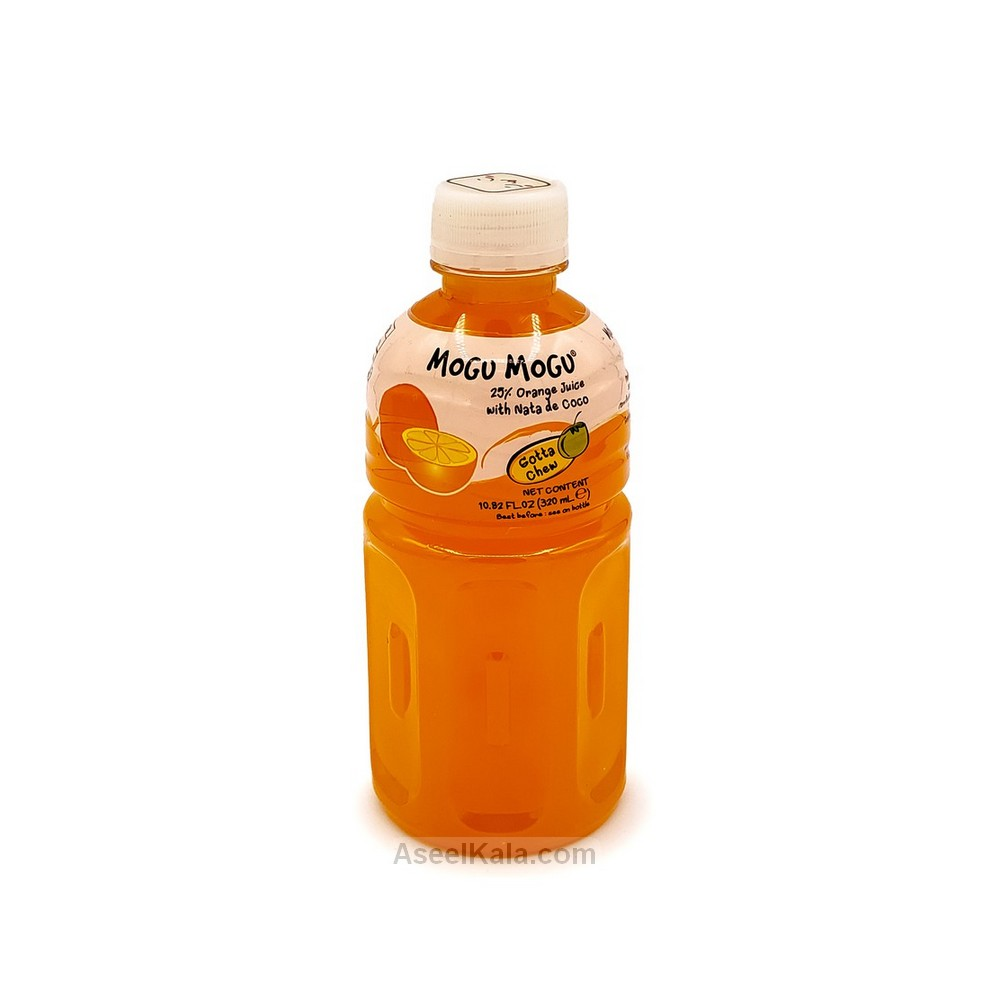 نوشیدنی موگو موگو Mogu Mogu با طعم پرتقال 320 میل