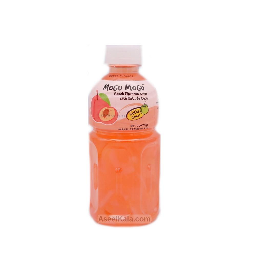 نوشیدنی موگو موگو Mogu Mogu با طعم هلو 320 میل