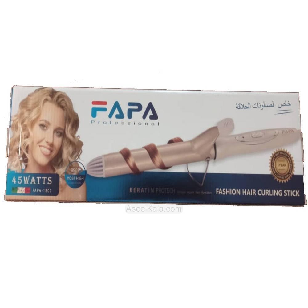 فر کننده مو فاپا Fapa مدل FAPA-1800