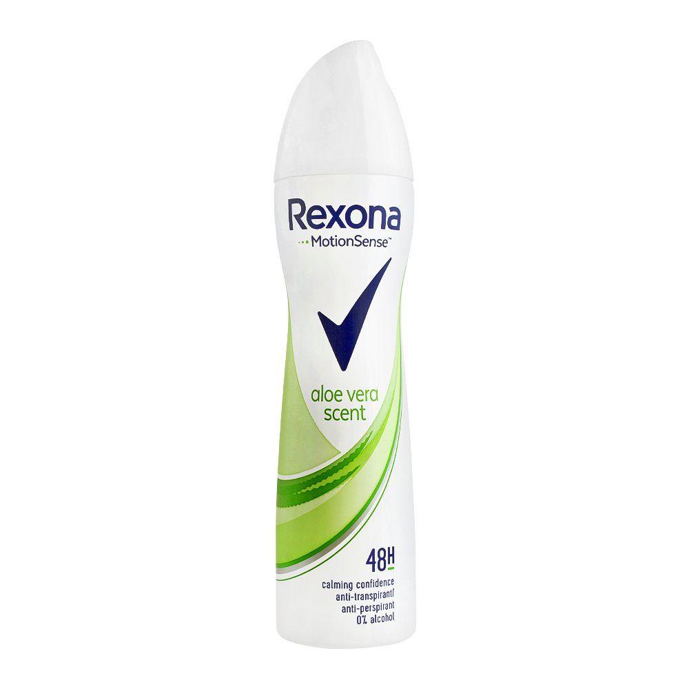 مشخصات ، قیمت و خرید اسپری بدن زنانه رکسونا Rexona مدل Aloe Vera حجم 200 میل